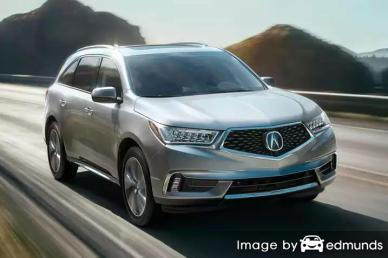Insurance rates Acura MDX in Omaha