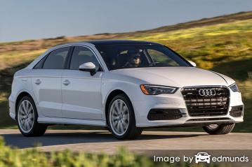 Insurance quote for Audi A3 in Omaha