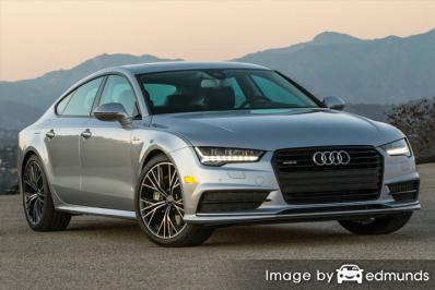 Insurance rates Audi A7 in Omaha
