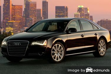 Insurance quote for Audi A8 in Omaha