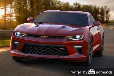 Discount Chevy Camaro insurance