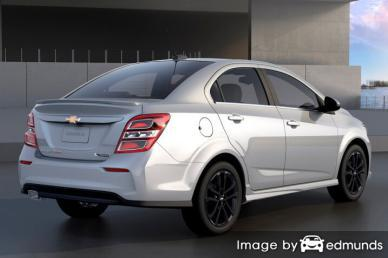 Discount Chevy Sonic insurance