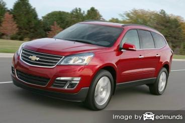 Insurance rates Chevy Traverse in Omaha