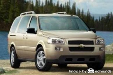 Insurance quote for Chevy Uplander in Omaha