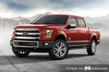 Insurance rates Ford F-150 in Omaha
