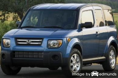 Insurance rates Honda Element in Omaha