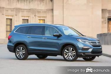 Insurance quote for Honda Pilot in Omaha