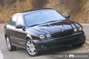 Insurance quote for Jaguar X-Type in Omaha
