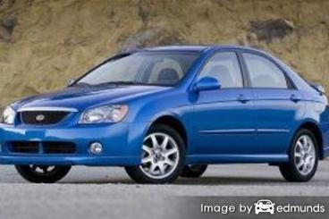 Insurance quote for Kia Spectra in Omaha
