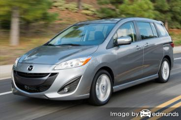 Insurance quote for Mazda 5 in Omaha
