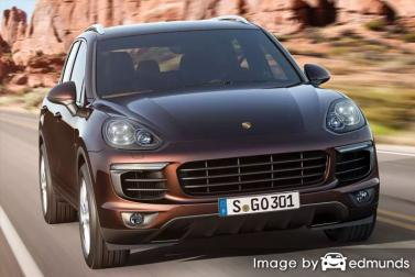 Insurance rates Porsche Cayenne in Omaha