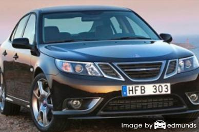 Insurance quote for Saab 9-3 in Omaha