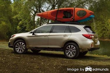 Insurance rates Subaru Outback in Omaha