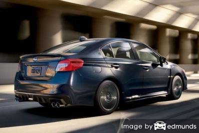 Insurance quote for Subaru WRX in Omaha