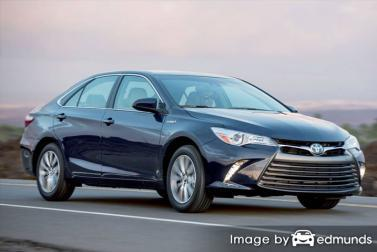 Insurance rates Toyota Camry Hybrid in Omaha