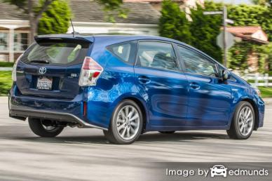 Insurance quote for Toyota Prius V in Omaha
