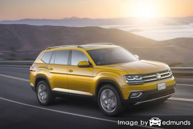 Insurance rates Volkswagen Atlas in Omaha