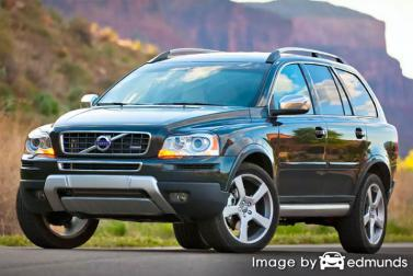 Insurance rates Volvo XC90 in Omaha